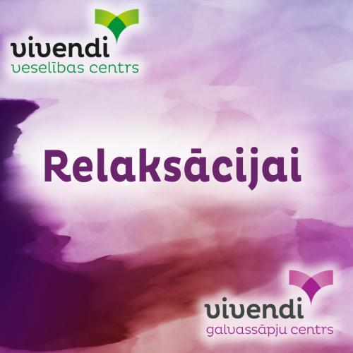 Jaunums: Relaksācijas disks LV/RU